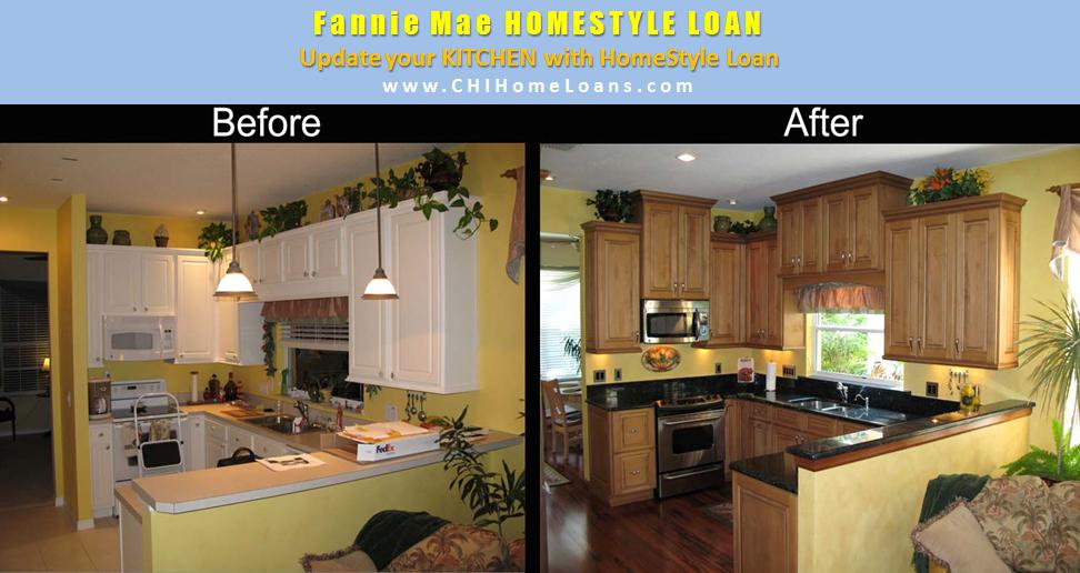 fannie mae home style loan chihomeloans kitchen renovation fha home loans
